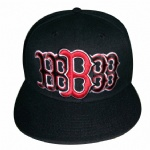 black 3d embroidery snapback hat